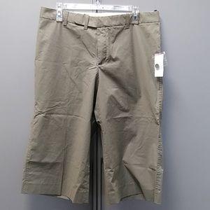 Khaki Gap culottes sz 12